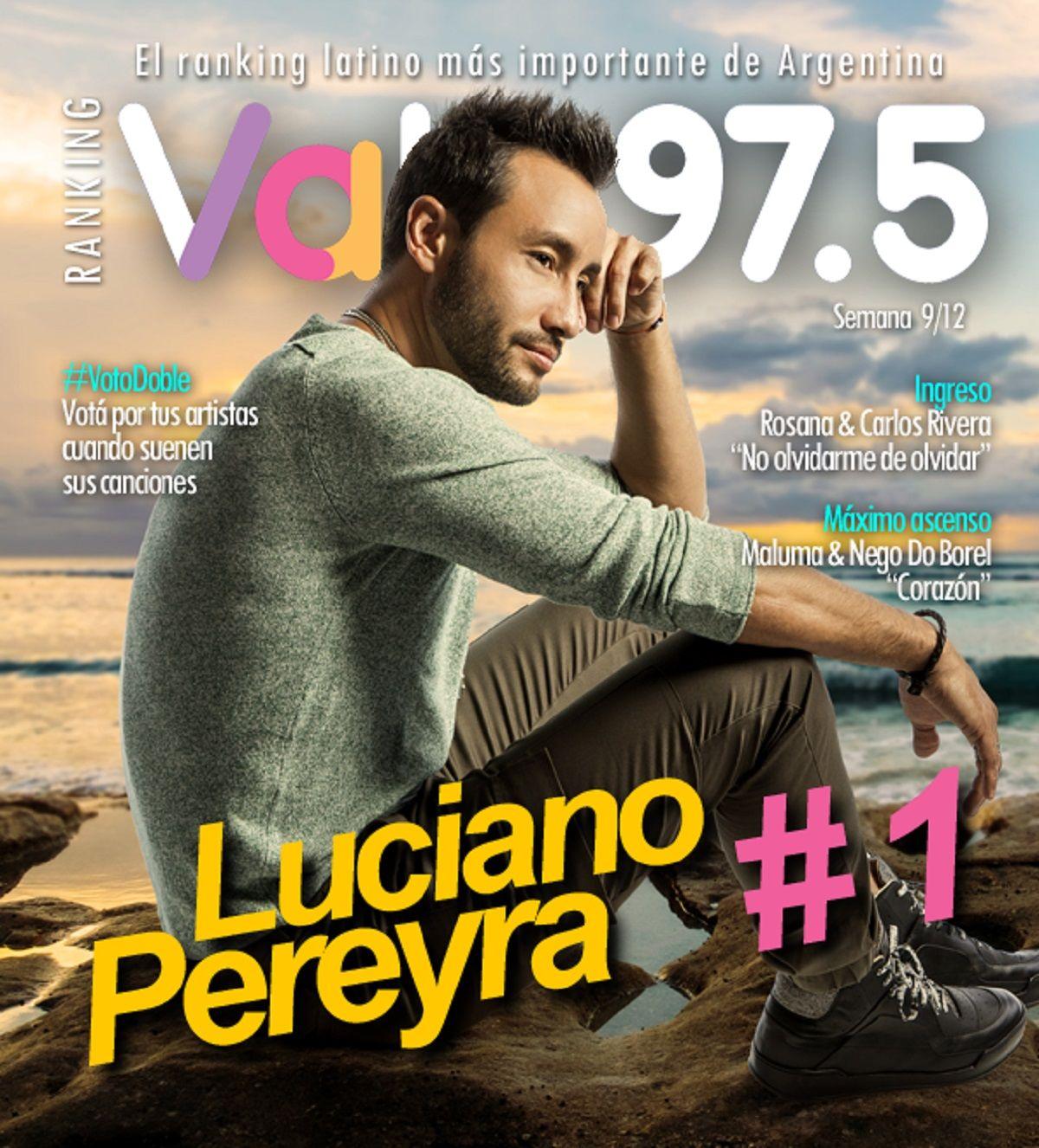 Luciano Pereyra sigue en lo más alto del Ranking Vale