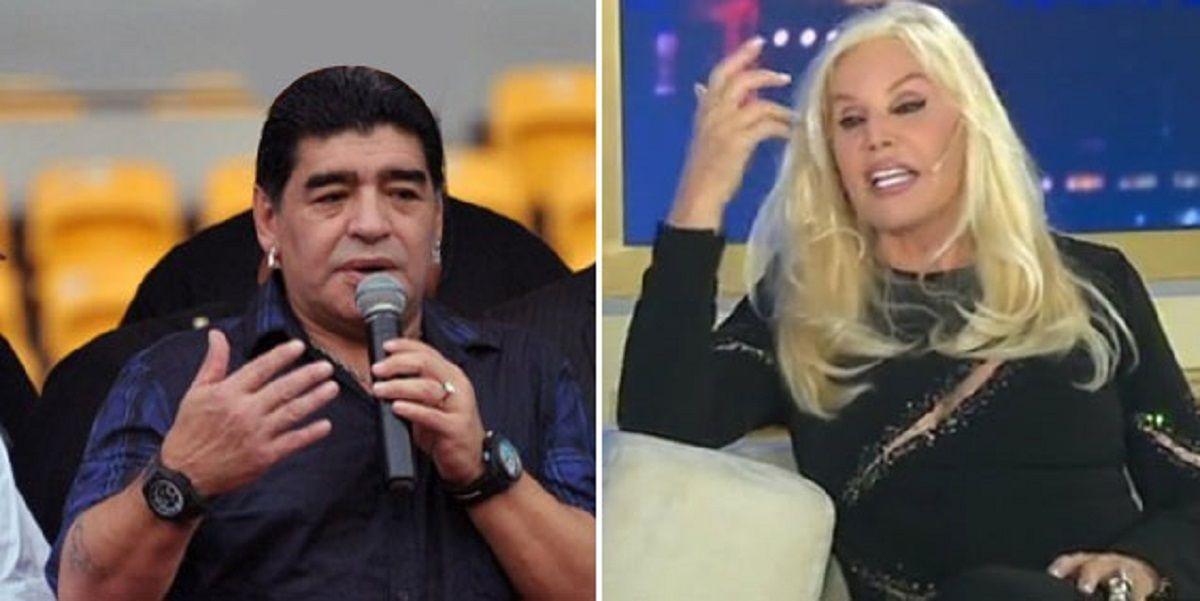 Susana Giménez, imputada por un escándalo con Diego Maradona