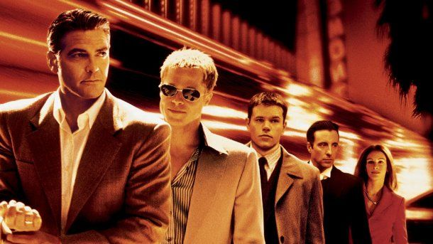 Geroge Clooney, Brad Pitt, Matt Damon, Andy García y Julia Roberts en