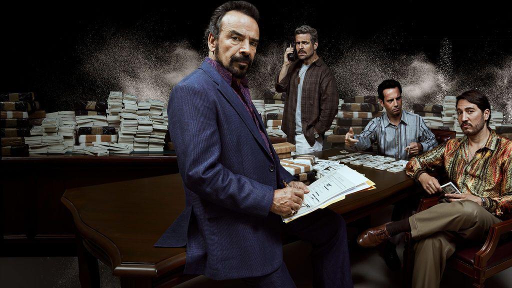 Diego Luna y Michael Peña son los protagonistas de la cuarta temporada de Narcos