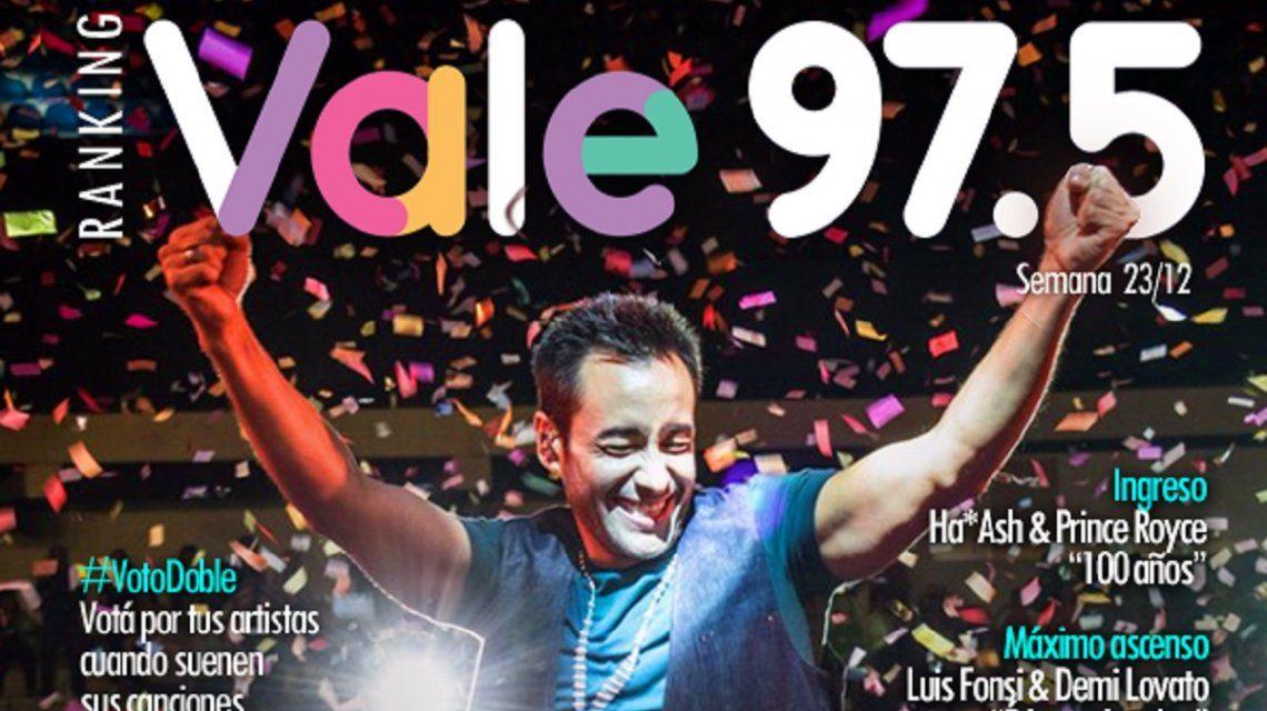 El Ranking Vale del 23/12
