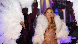 Mariah Carey en la Times Square