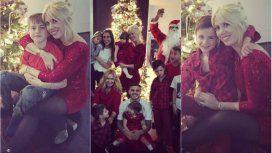 La Navidad top de Wanda Nara