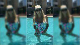Ailén Bechara embarazada y con su panza creciendo mes a mes