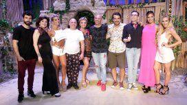 Todo el elenco de La isla encantada