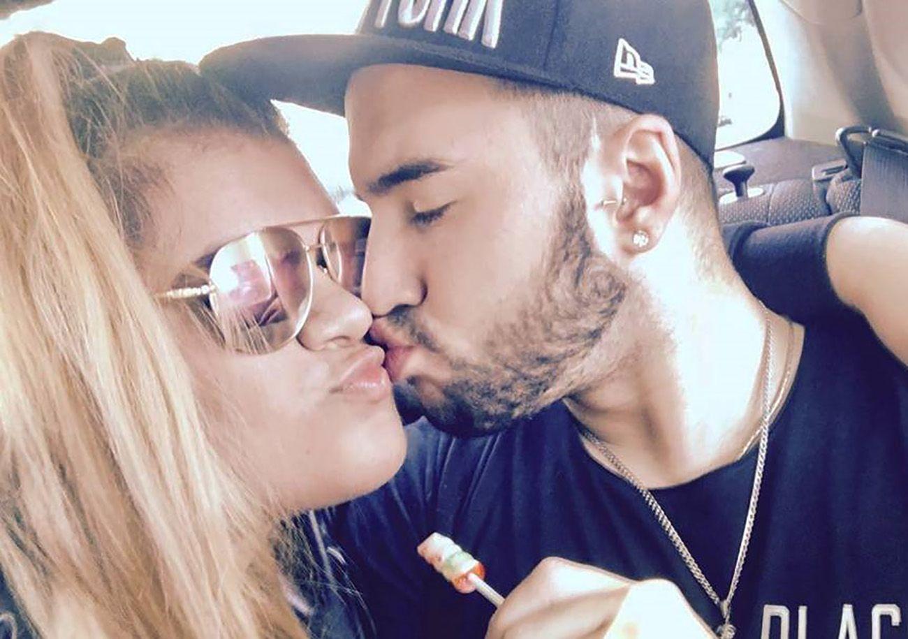 El ex novio de More Rial se mostró acaramelado con otra mujer