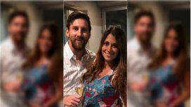 Messi y Antonela, súper felices en Rosario