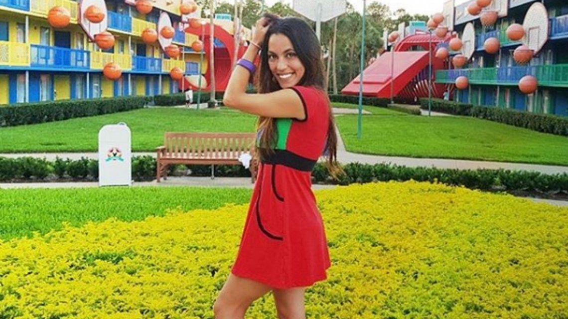 Sabrina Mateos se luce como comediante