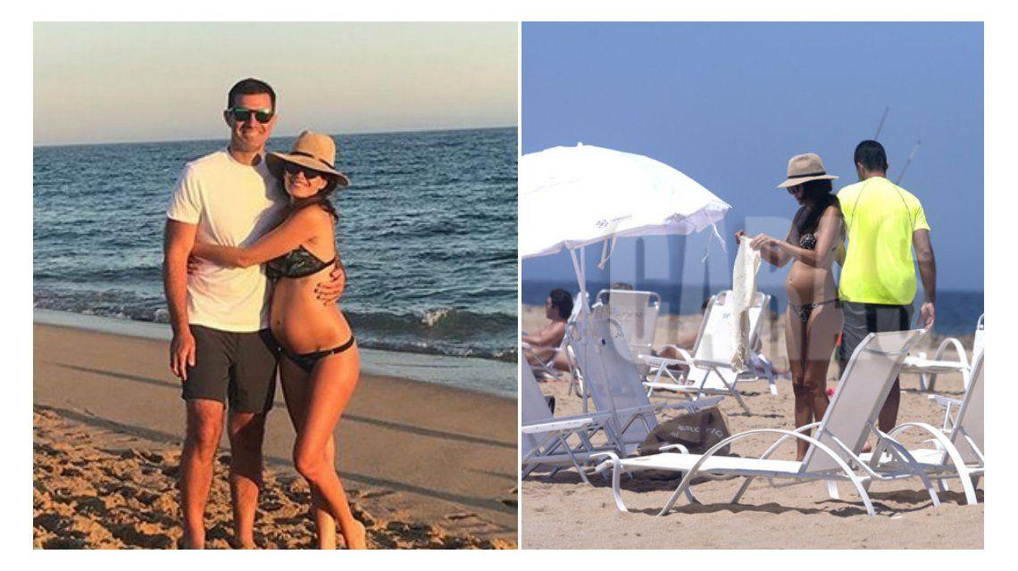 Los días de playa de Isabel Macedo con Juan Manuel Urtubey