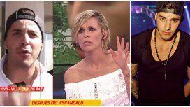 Enojada, Denise Dumas lo frenó en seco a Lhoan en vivo: No hablemos más con él