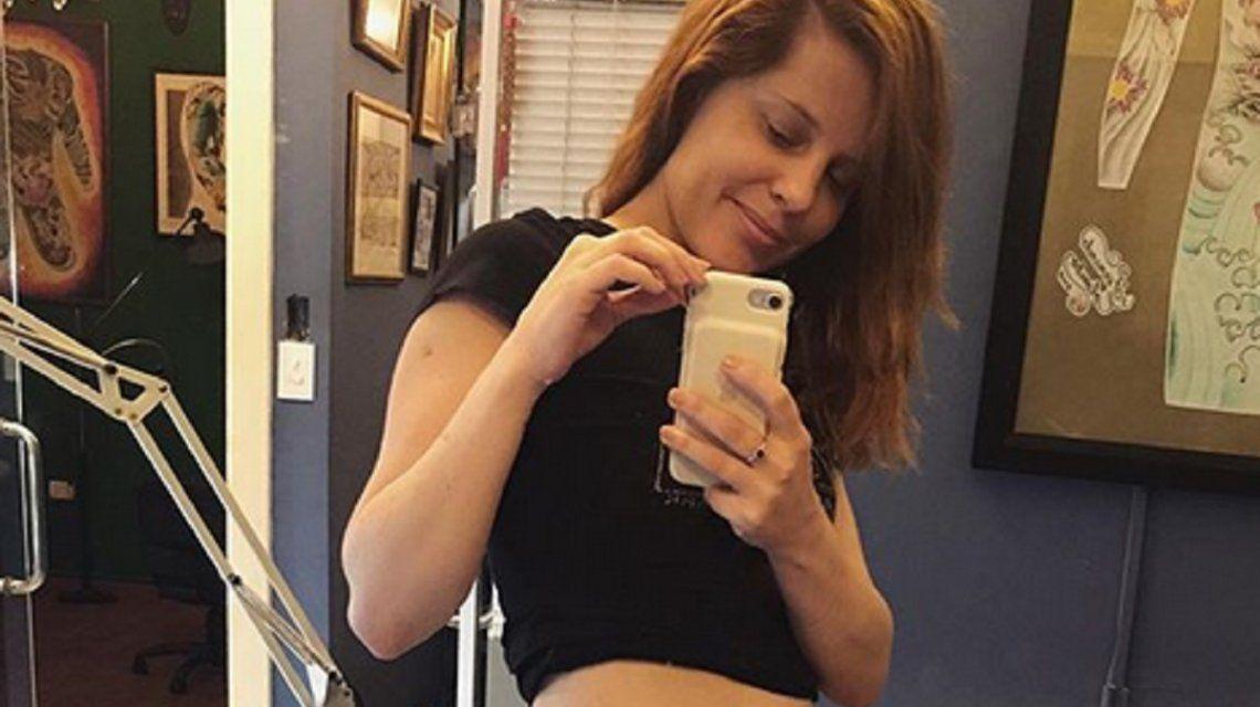 Mirá el nuevo ¡y gran! tatuaje de Agustina Kämpfer en su cintura