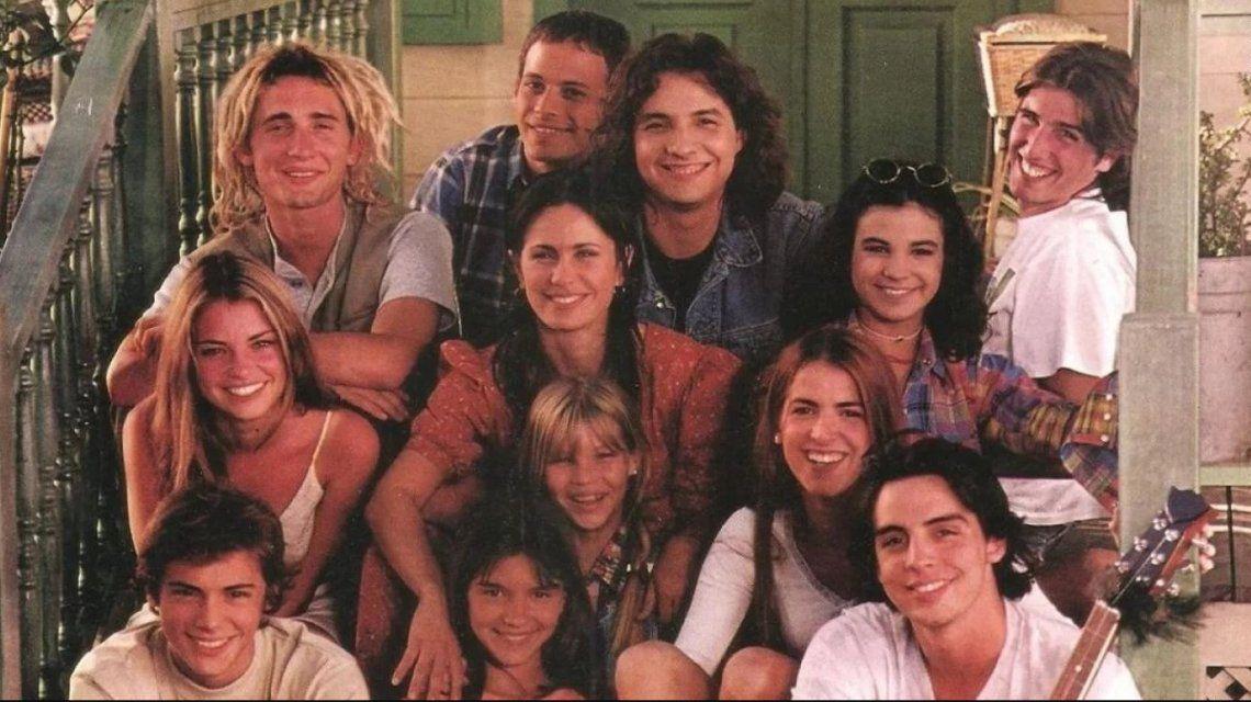 El elenco de Verano del 98