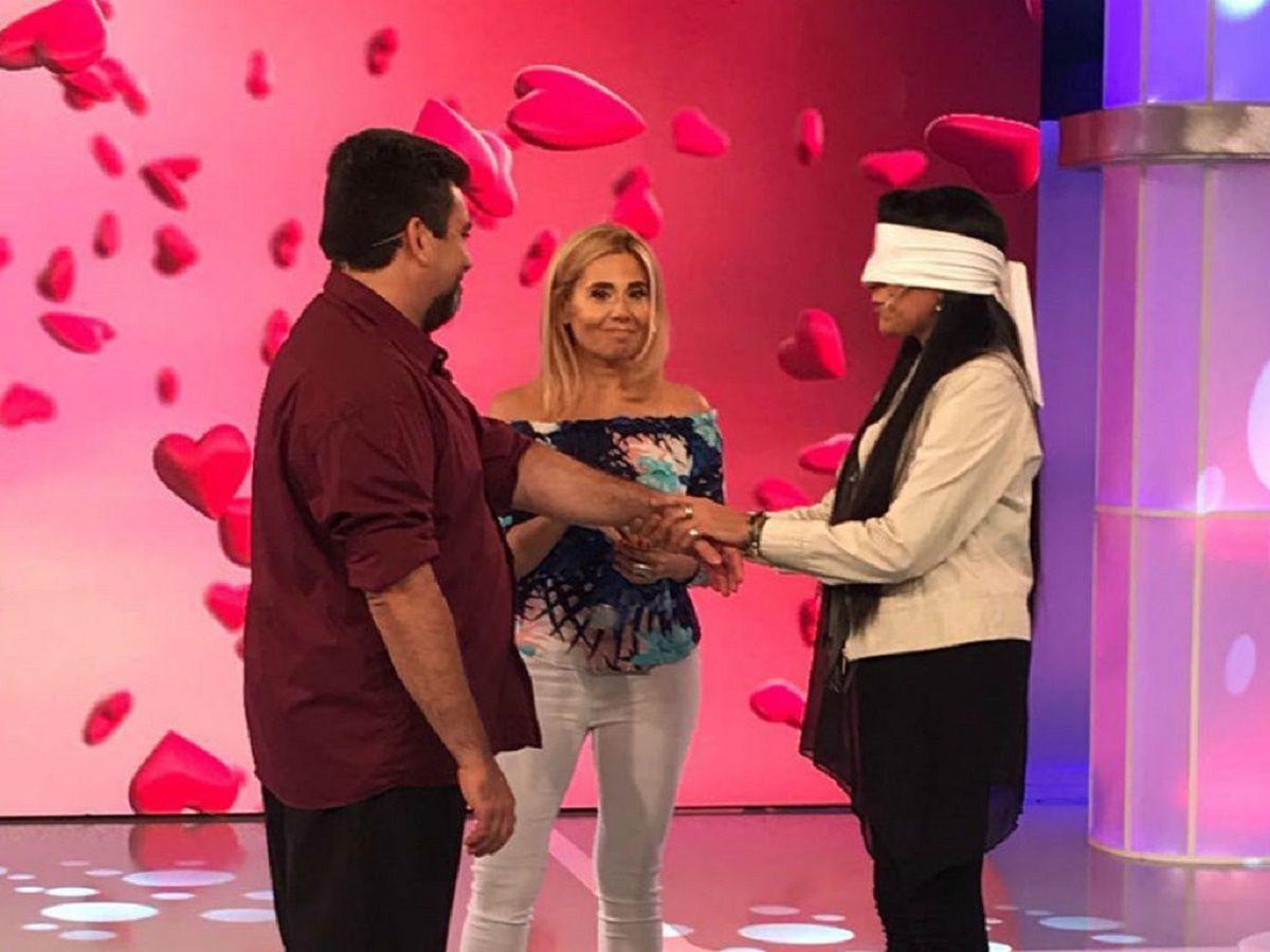Alejandro y Gabriela simularon no conocerse