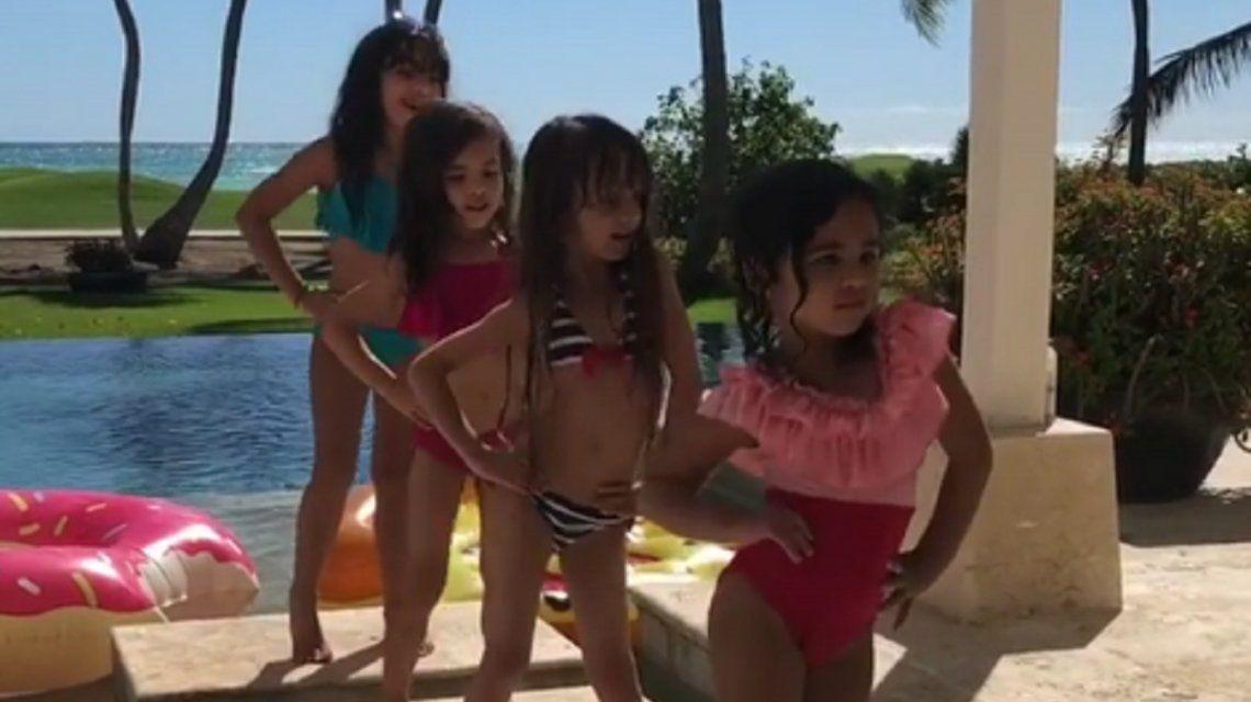 La hija de Luis Fonzi, furor en Instagram: mirá cómo baila Échame la culpa