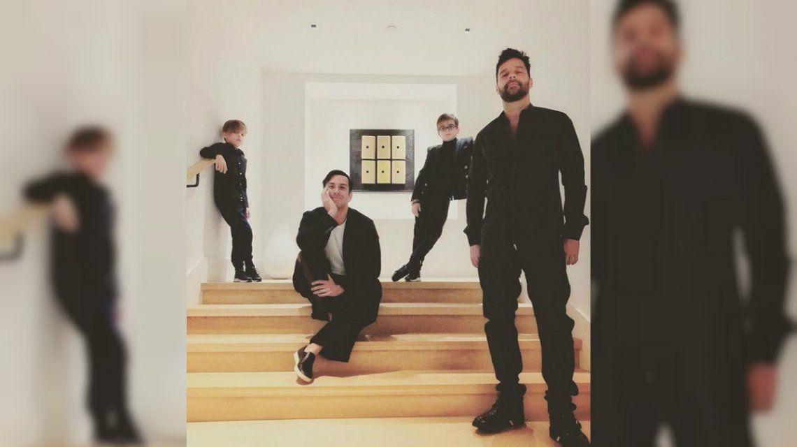 Ricky Martin junto a Jwan