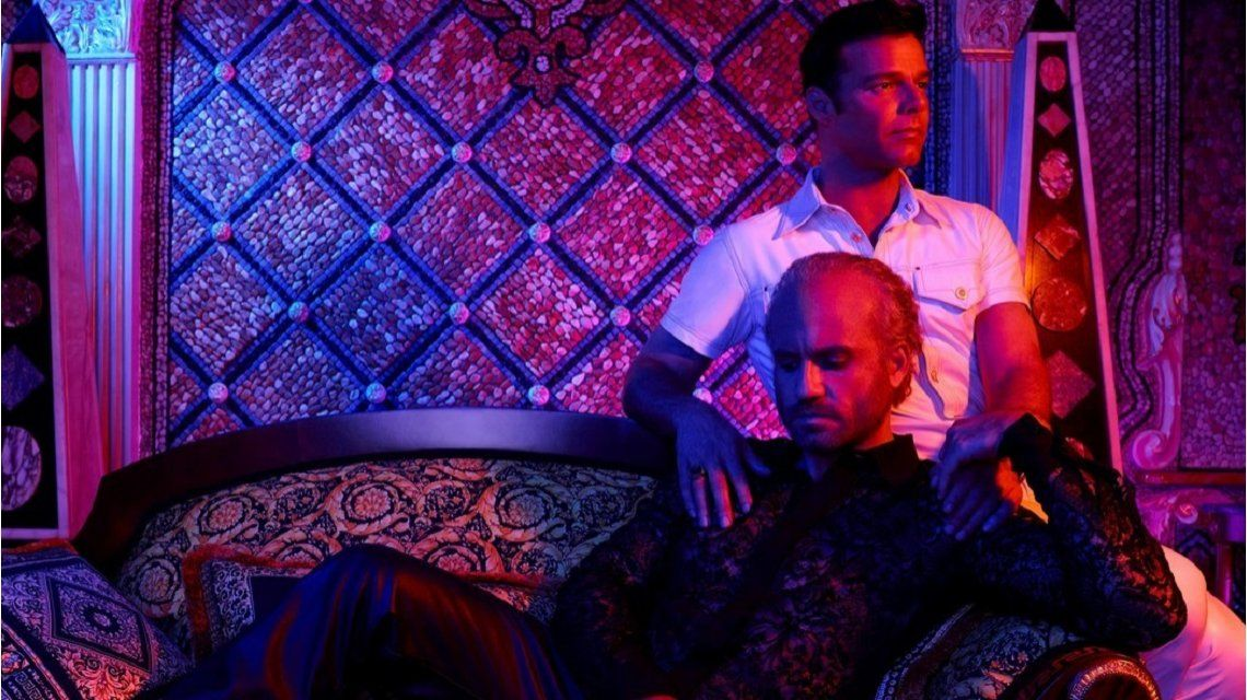 Ricky Martin enEl asesinato de Gianni Versace: American Crime Story