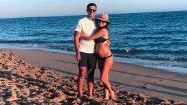 Urtubey y Macedo, embarazada de cinco meses
