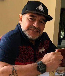 Apareció un audio de Maradona a Ojeda