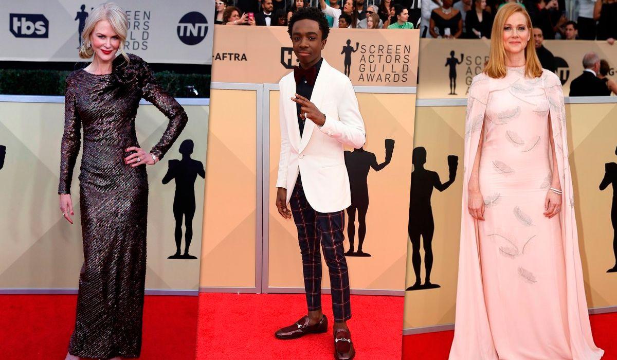 Todo Hollywood en un lugar: mirá los mejores looks de los SAG Awards 2018