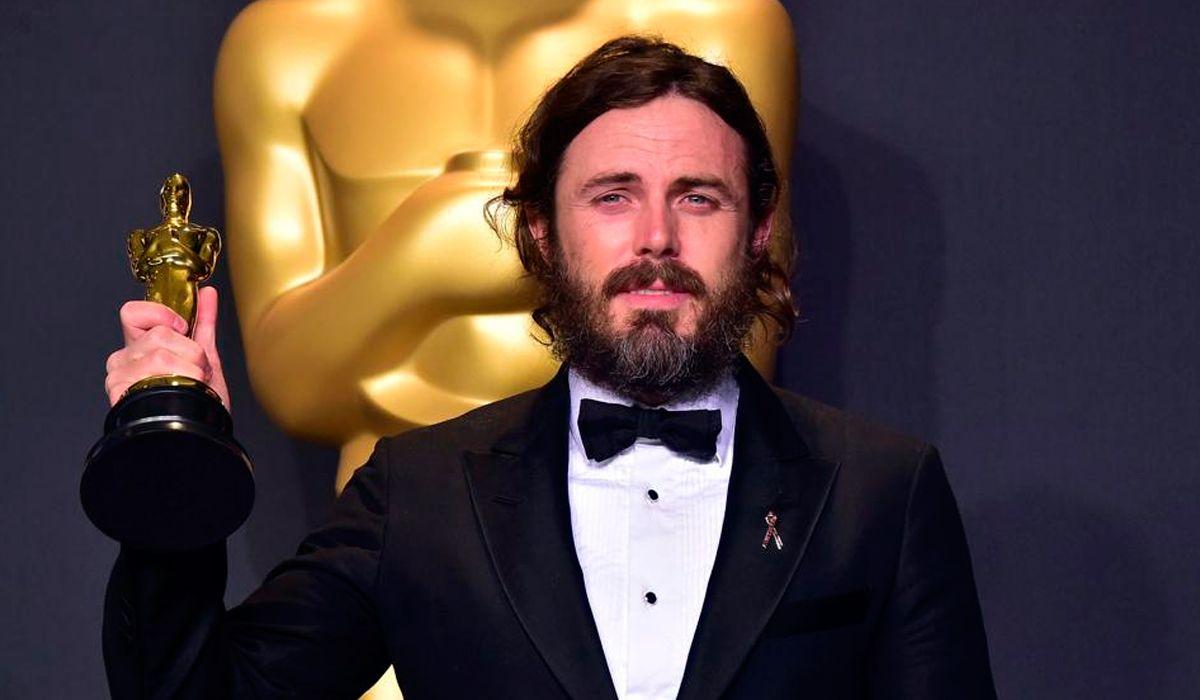 Casey Affleck en los Premios Oscar 2017