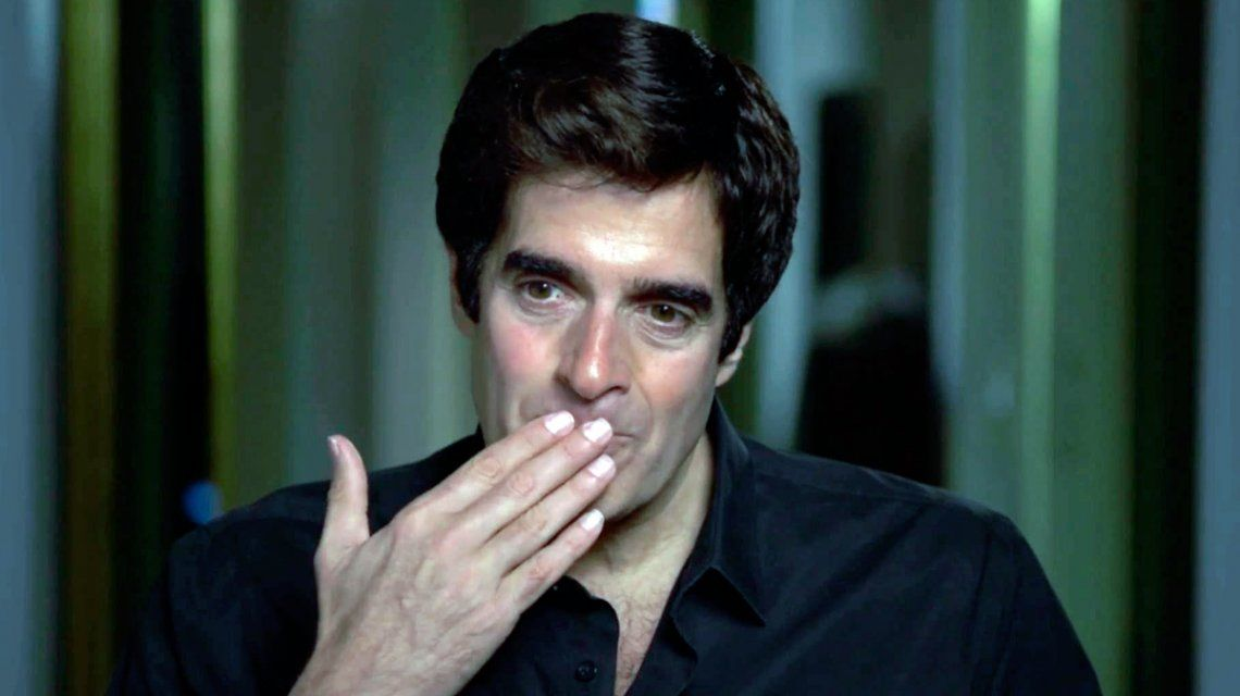 David Copperfield acusado de abusar de una menor