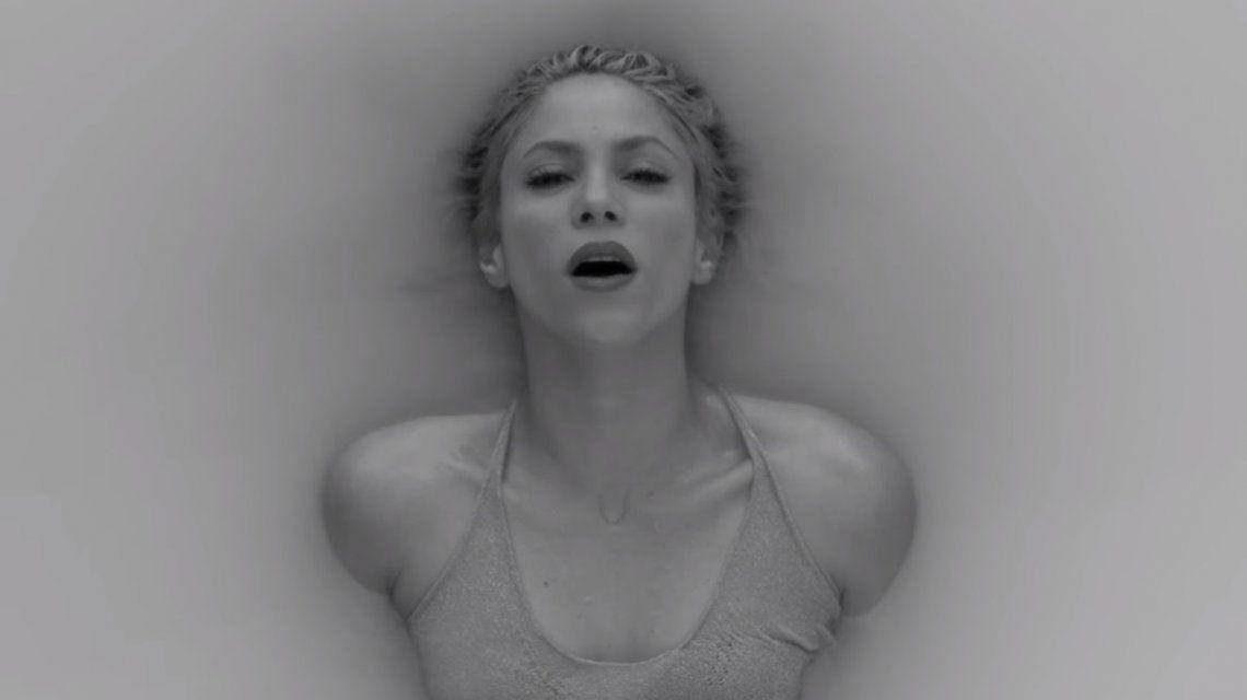 Shakira en el videoclip de Trap