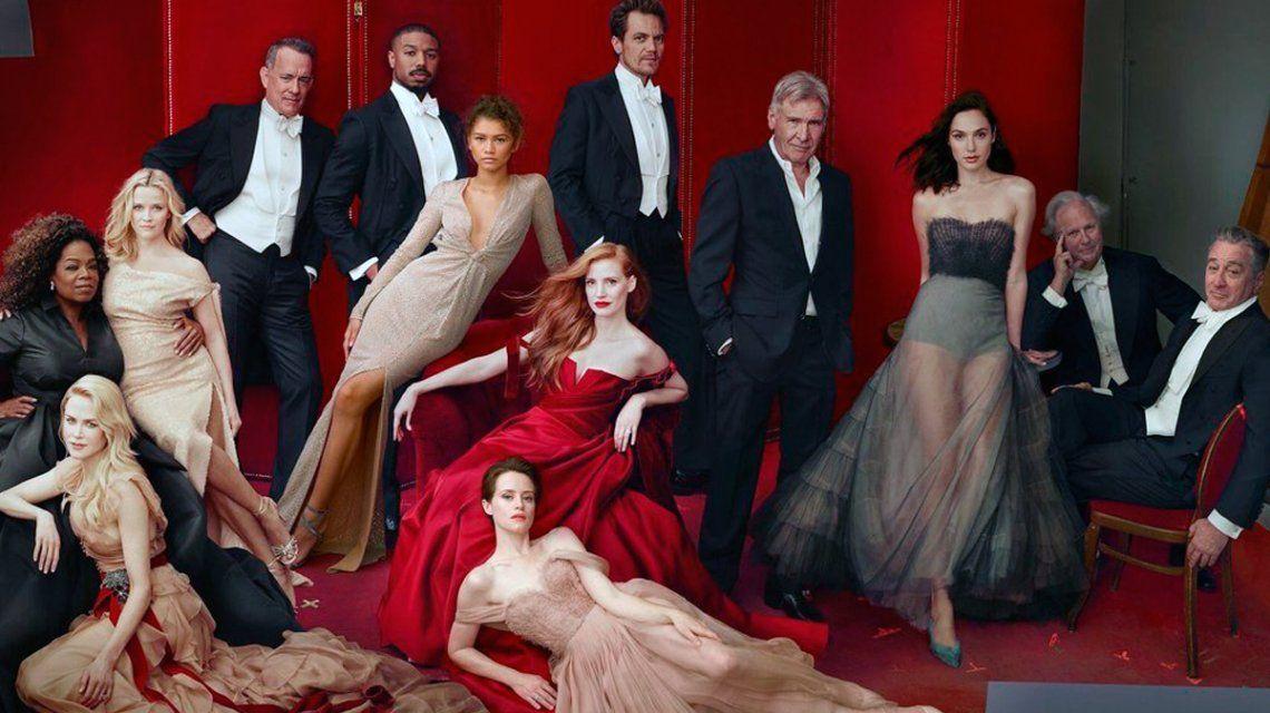 La famosa portada de Vanity Fair