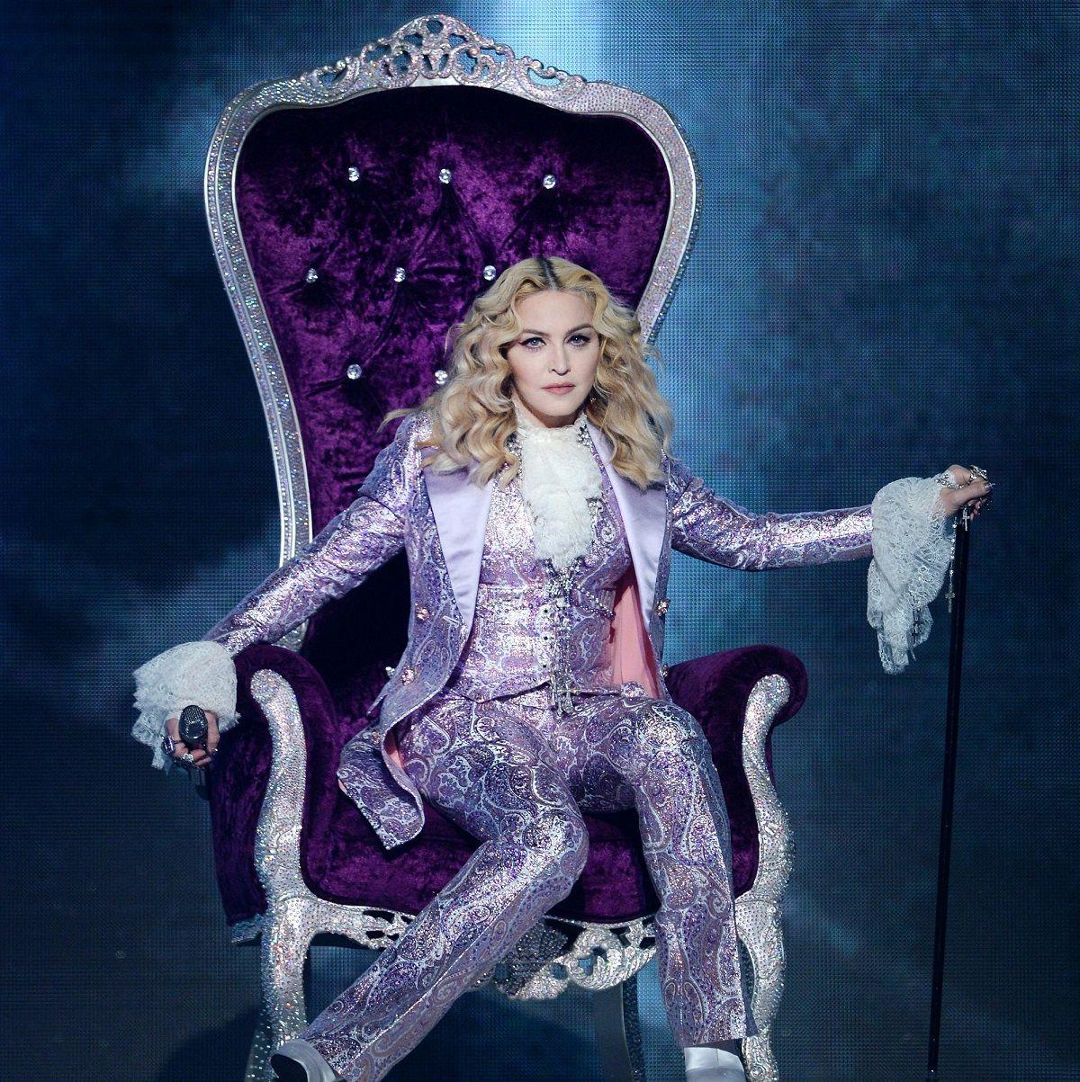 Madonna y un topless que generó polémica