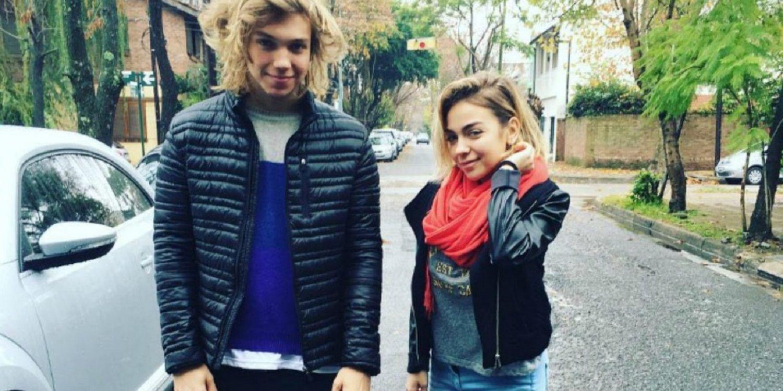 Franco Masini y su hermana Mili