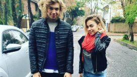 Franco Masini y su hermana Mili, cantantes