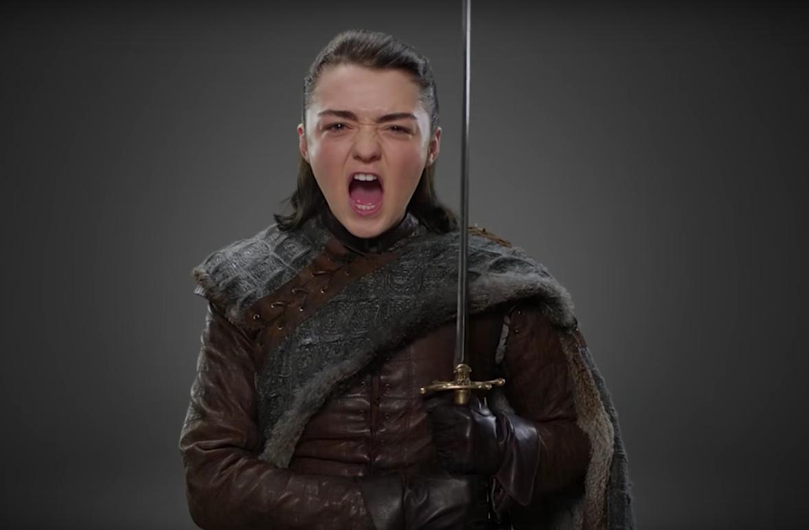 Arya Stark reveló cuándo saldrá la próxima temporada de Game of Thrones