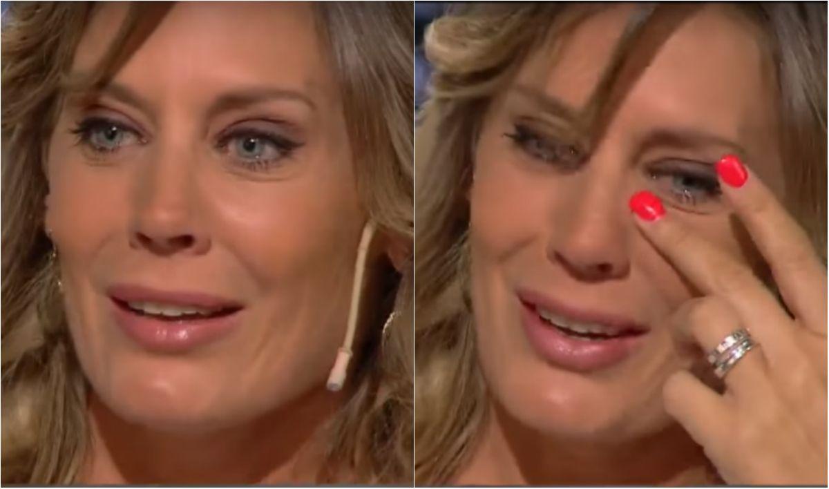 Rocío Marengo no pudo contener el llanto al hablar de su psoriasis