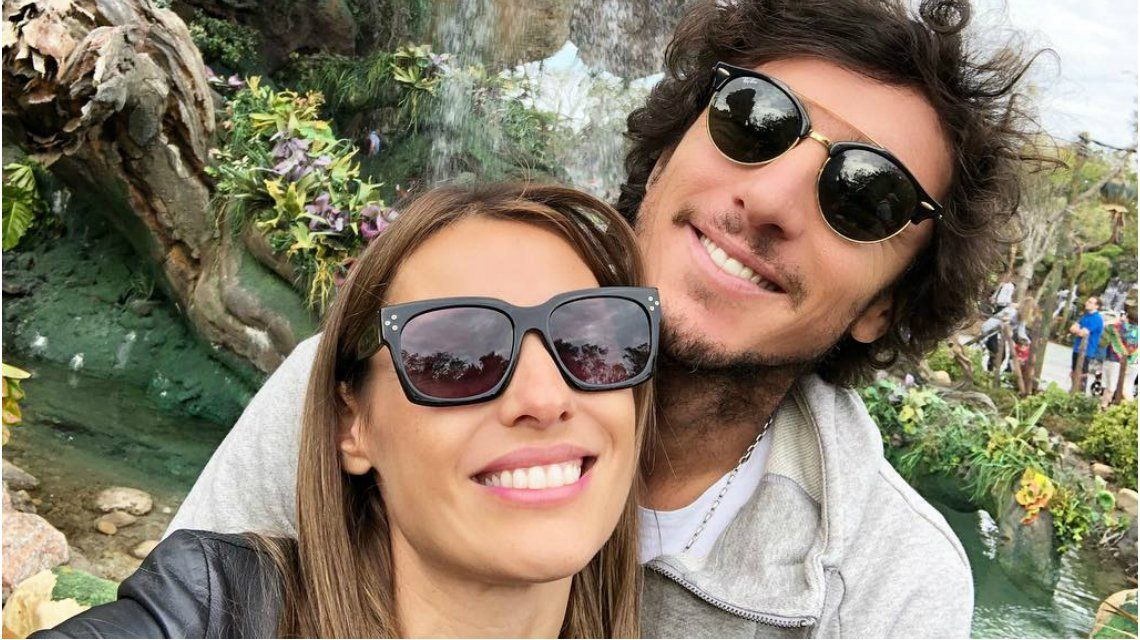 Pampita y Pico en Animal Kingdom
