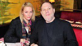 Uma Thurman acusó a Harvey Weinstein