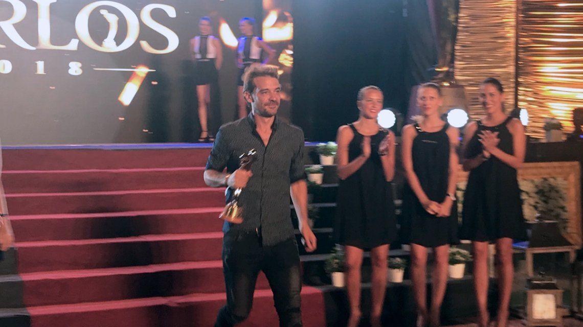 Peter Alfonso recibió el Premio especial del jurado
