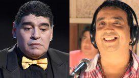 La fuerte reacción de Maradona al ver las fotos de la muerte del Chino de La Nueva Luna