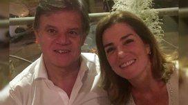 Enrique Sacco y Débora Pérez Volpin