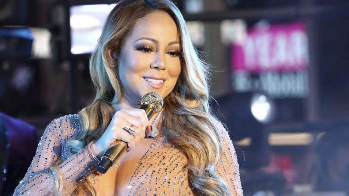 Mariah Carey con sus viejas curvas