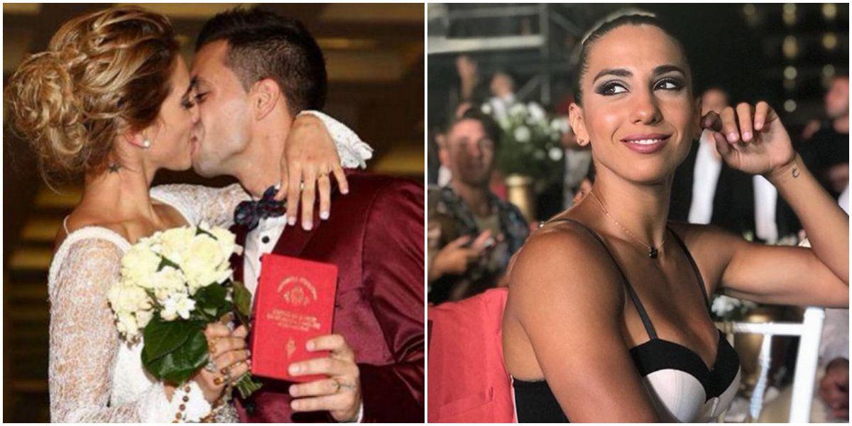 Doloroso abrazo de despedida de Cinthia Fernández y Matías Defederico