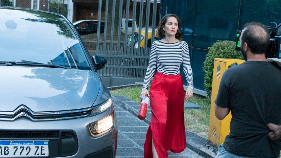Las primeras imágenes de la grabación de Re loca, la nueva película de Natalia Oreiro y Diego Torres
