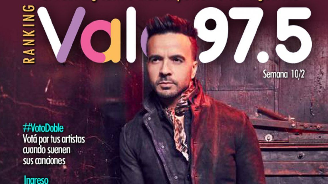 Luis Fonsi y Demi Lovato, imparables en el Ranking Vale 97.5