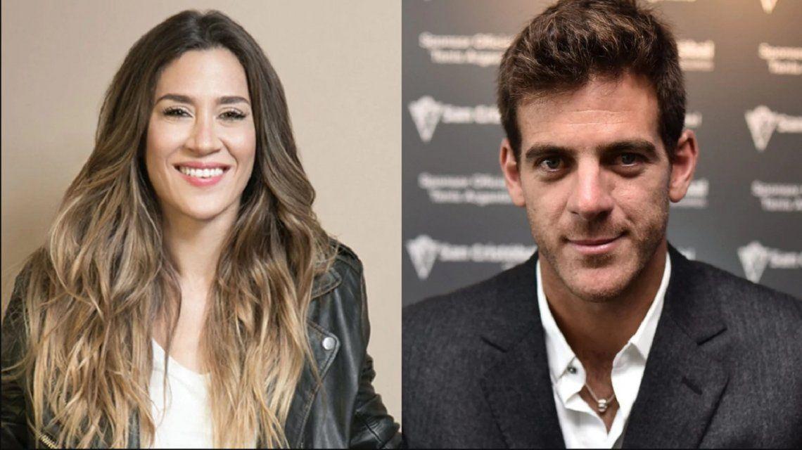 Jimena Barón habló de su relación con Del Potro.