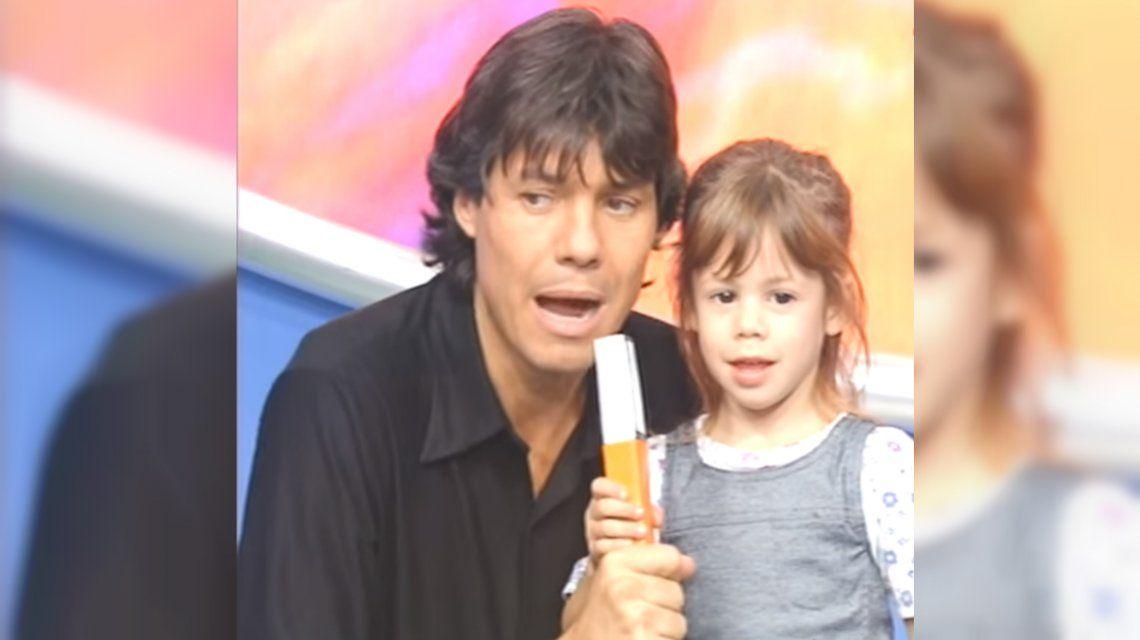 Yamila Casco de chica