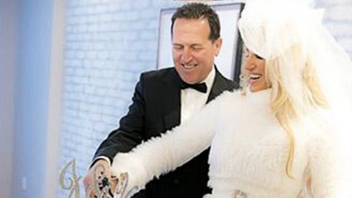 Vicky Xipolitakis se casó en Nueva York