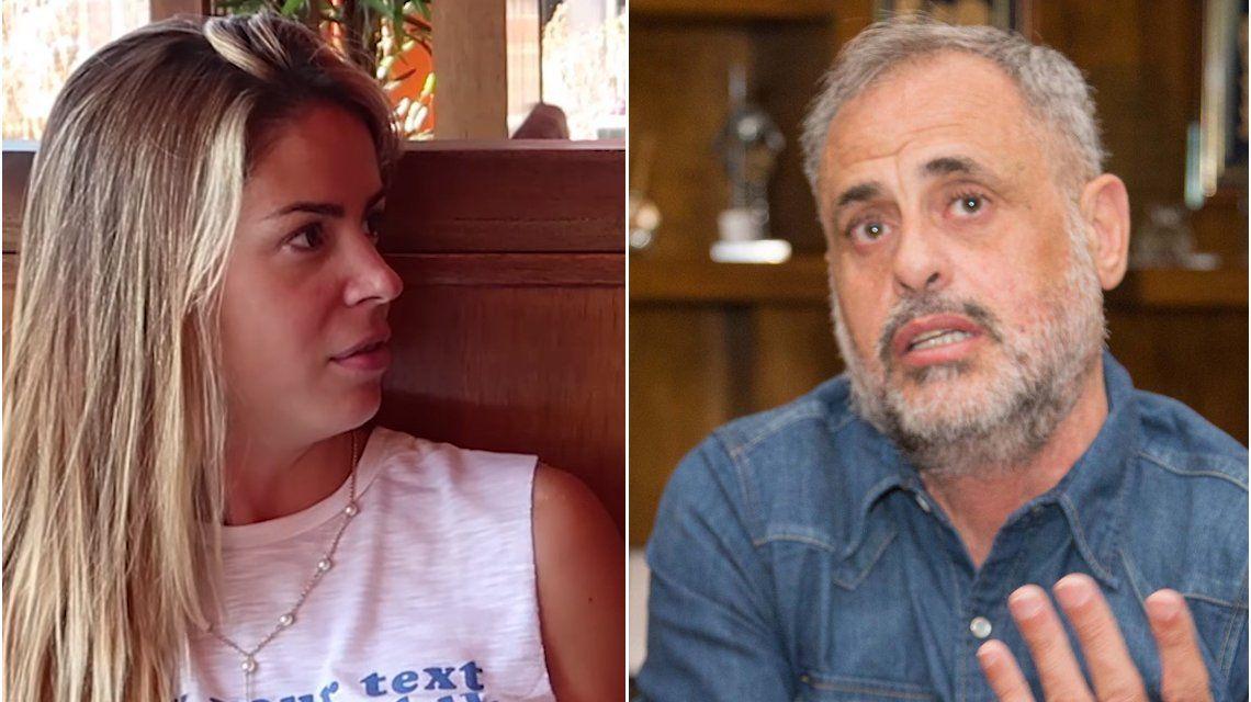 Marianela Mirra responsabilizó a Jorge Rial por su desaparición de los medios