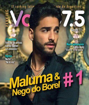 Maluma volvió al liderazgo del Ranking Vale