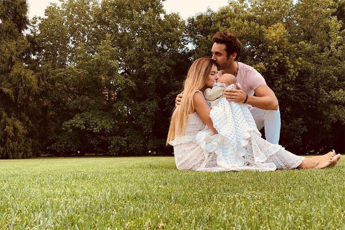 La foto más dulce de Benjamín Vicuña junto a Magnolia