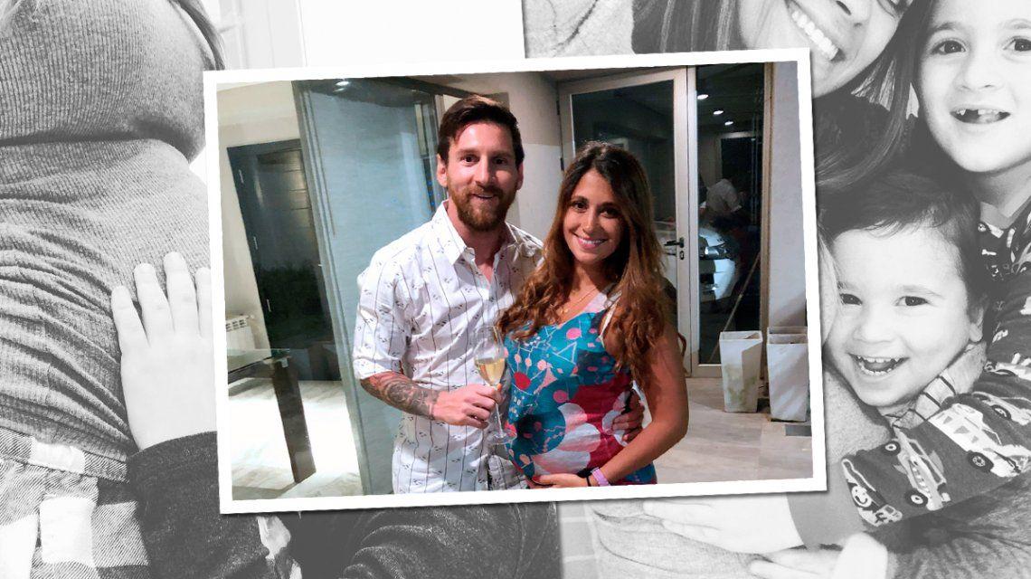 Messi y Antonela llamarán Ciro a su tercer hijo