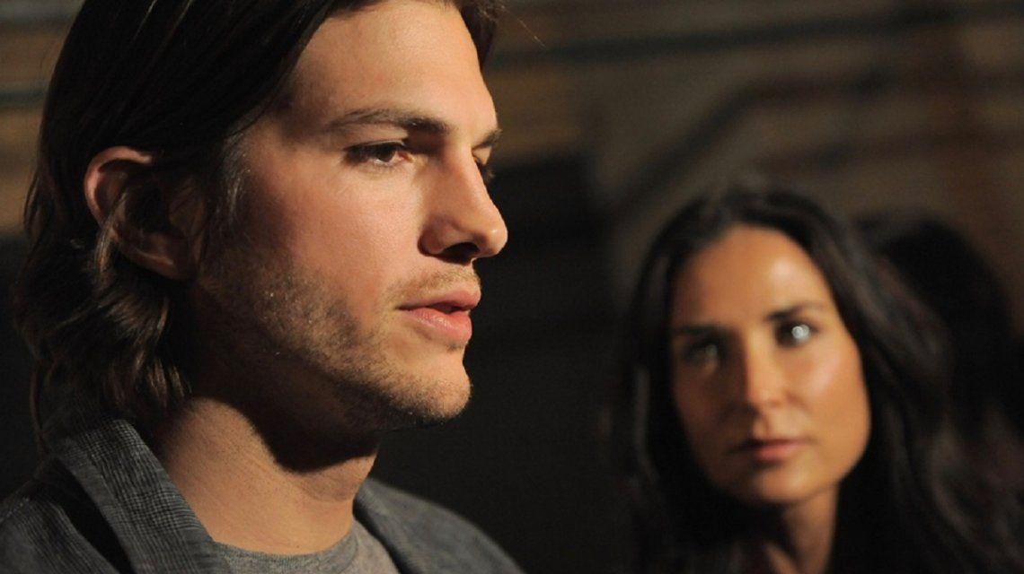 Ashton Kutcher contó el extremo método para superar su divorcio de Demi Moore