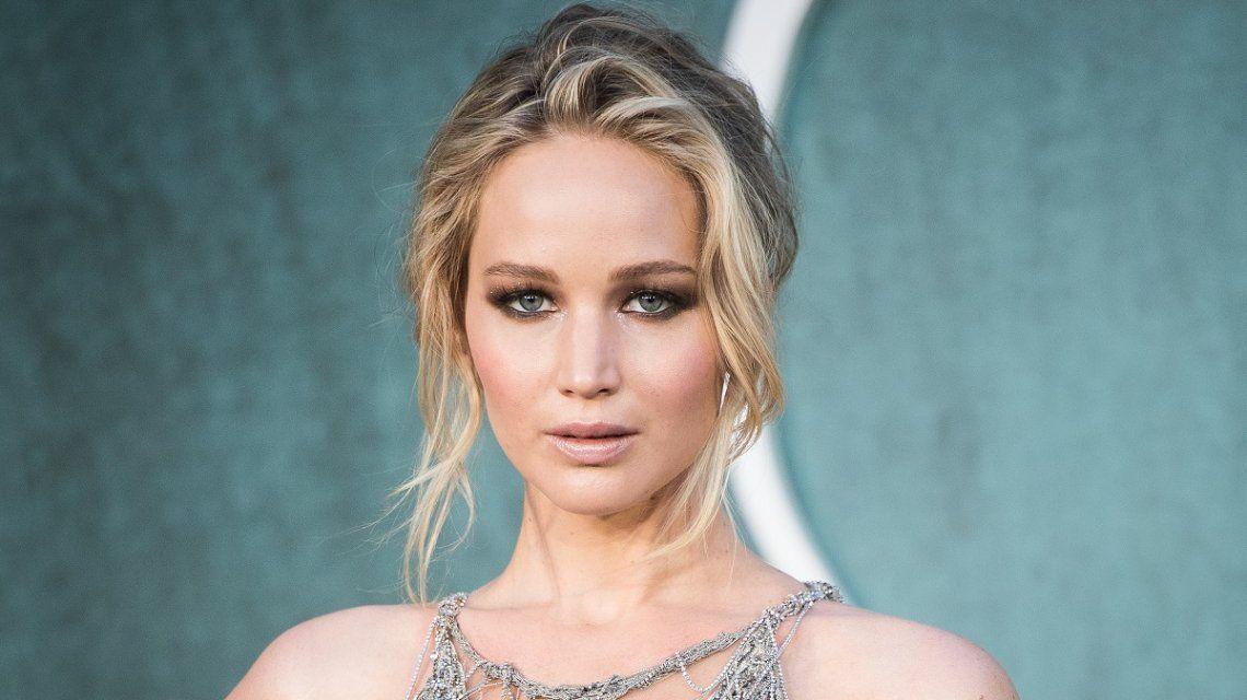 Fuerte descargo de Jennifer Lawrence tras una polémica por un vestido
